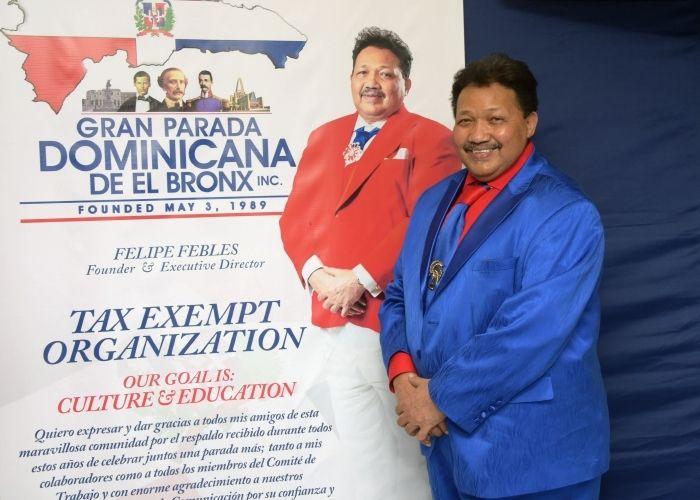 Cónsul Eligio Jaquez destaca el aporte a la diáspora de La Gran Parada Dominicana del Bronx en la celebración del 32 aniversario de la institución comunitaria.
